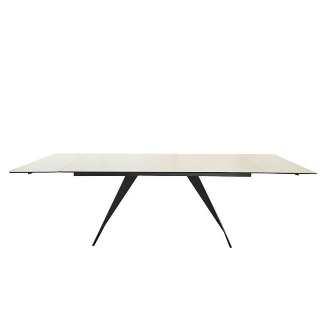 Meubletmoi Table extensible en céramique - Opale