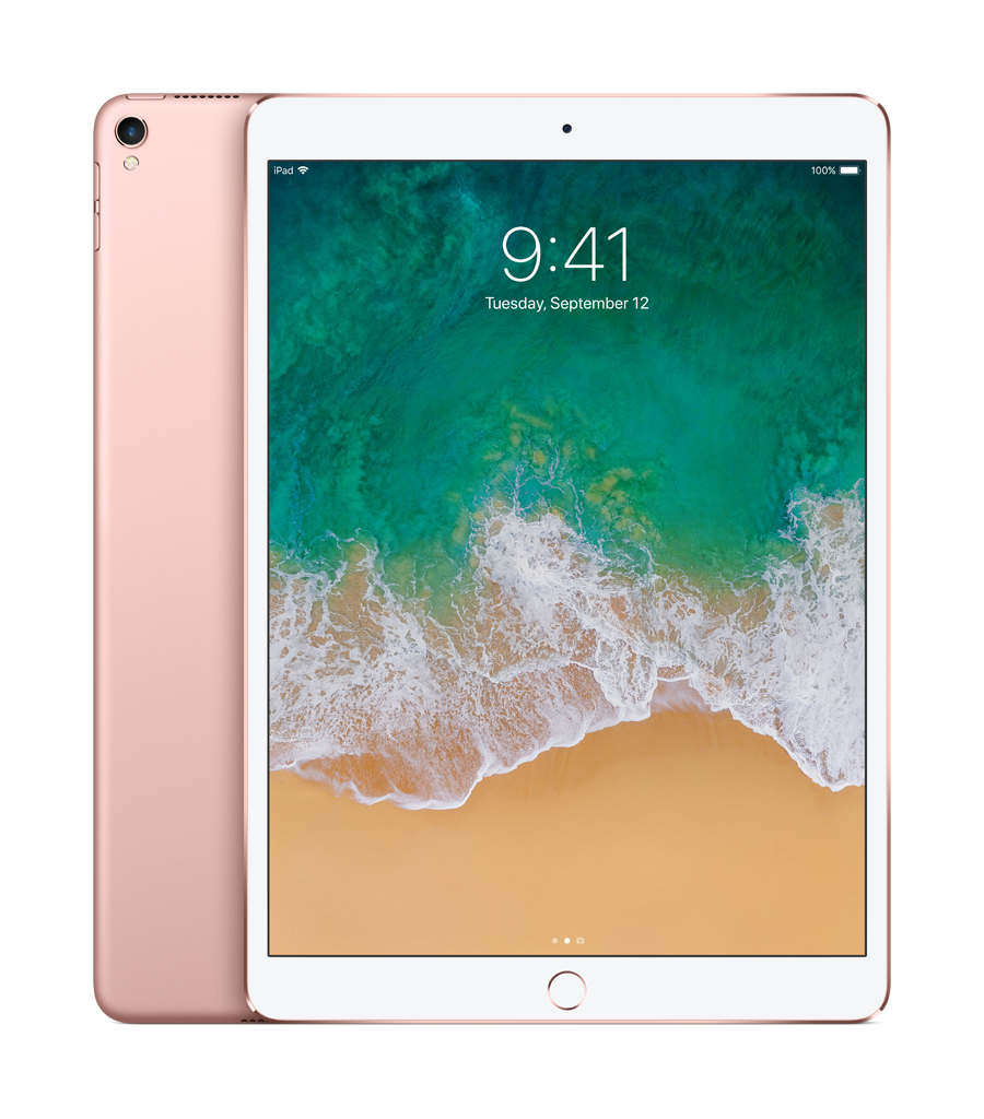 "iPad Pro - 10,5"" - 64 Go - WiFi - MQDY2NF/A - Or Rose"