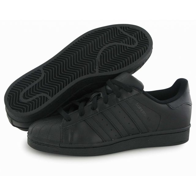 Adidas Originals Superstar Foundation noir, baskets mode