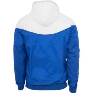 8318a2341b4f Urban Classics - Coupe-vent Urban Classics Bleu roi   Blanc en Nylon