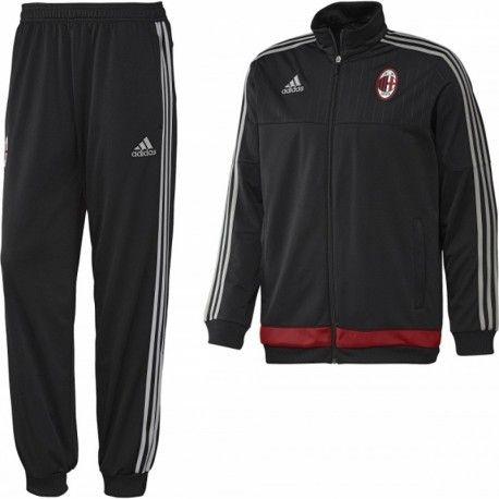 Adidas originals Survêtement Milan Ac Noir Football Garçon