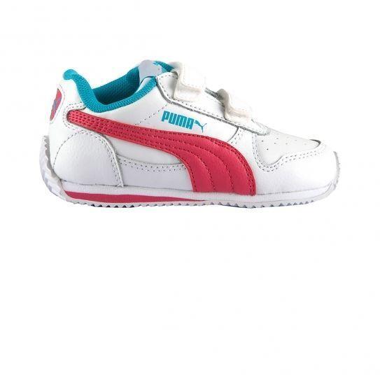 8283d417f62 Puma - Chaussures Inf Fieldsprint White Fandango Bb - pas cher Achat    Vente Baskets enfant - RueDuCommerce