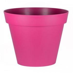 eda plastiques pot rond fuschia diam tre 80 cm 170 litres toscane 13623 pas cher achat. Black Bedroom Furniture Sets. Home Design Ideas