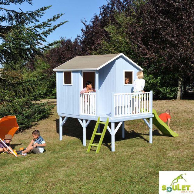 cabane enfant pas cher trendy lit cabane maison en bois avec rangement lit enfant couchage avec. Black Bedroom Furniture Sets. Home Design Ideas