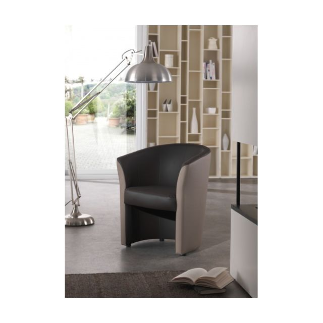 Rocambolesk Fauteuil cabriolet Pvc choco taupe