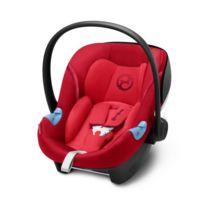 Cybex - Gold Siège Auto Coque pour Bébé Aton M i-Size, Réducteur Nouveau-Né Inclus, Pour les Enfants de 45 cm à 87 cm, 13 kg max - Rebel Red