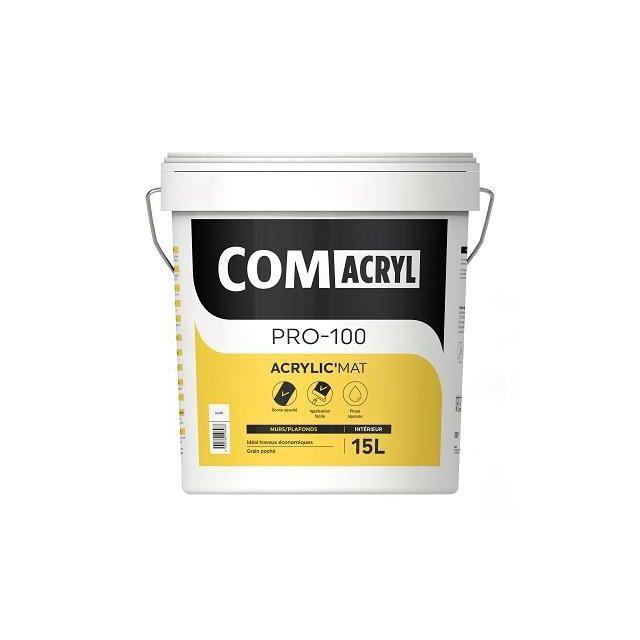 Comacryl Acrylic Mat 15l Peinture De Finition Mat