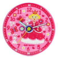 Baby Watch - Princesse Horloge Enfant Quartz Analogique Cadran Rose