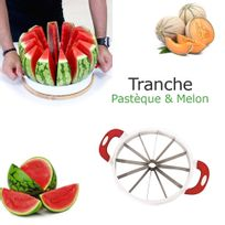 Cuisy - Coupe pasteque et melon tranche easy