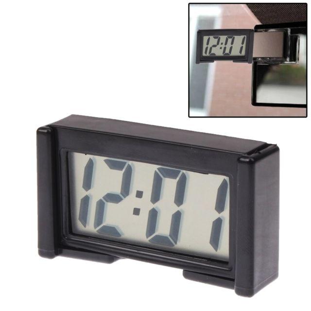 wewoo affichage num rique d 39 heure de calendrier de voiture d 39 horloge lectronique de d. Black Bedroom Furniture Sets. Home Design Ideas
