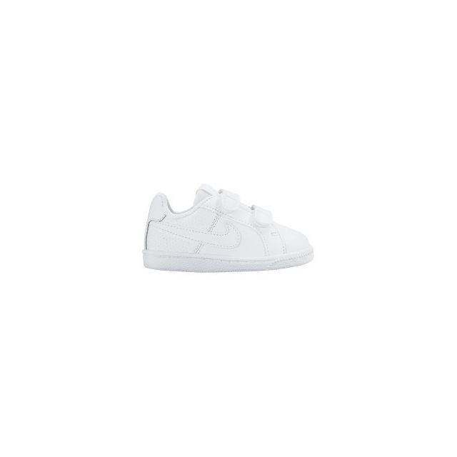 Nike Chaussures Court Royale Tdv Achat blanc enfant pas cher Achat Tdv 47a264