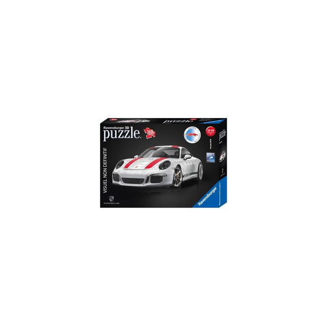 ravensburger puzzle 3d porsche 911 108 pi ces pas cher. Black Bedroom Furniture Sets. Home Design Ideas