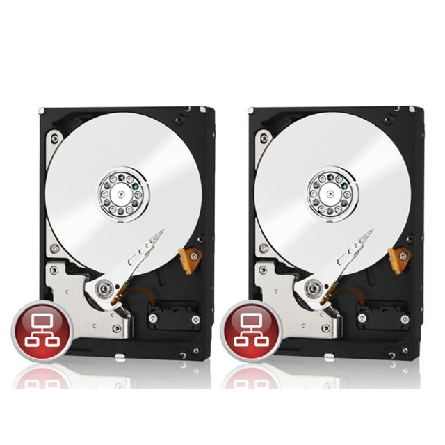 WESTERN DIGITAL WD Red - 2 x 1 To Pack de 2