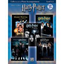 Alfred Publishing - Partitions Variété, Pop, Rock. Harry Potter Solos + Cd - Cello Solo Cordes