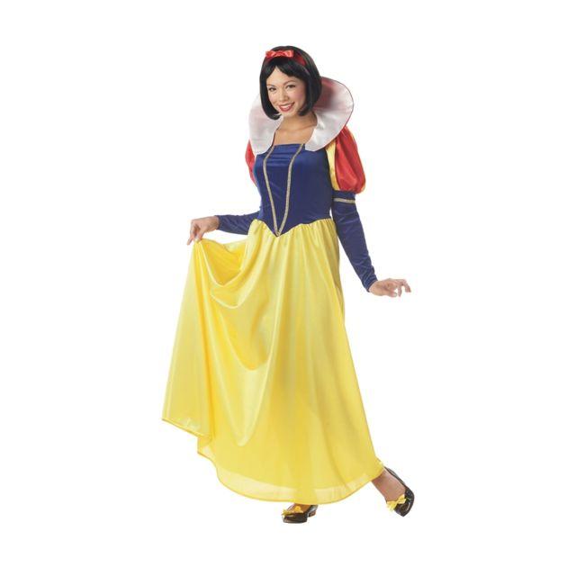 9d6e925c5564 Marque Generique - Longue robe de blanche neige adulte - pas cher Achat    Vente Déguisement adulte - RueDuCommerce