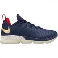 Nike - Chaussure de Basketball LeBron Xiv Low Navy pour homme Pointure - 42