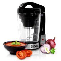 Duronic - Bl78 Blender chauffant à soupe en verre transparent Créez vos soupes et gaspachos par simple pression d'une touche