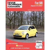 Topcar - Revue technique pour Fiat 500 Ii 07-2007 et après, essence 1.2-1.4 et 1.3d