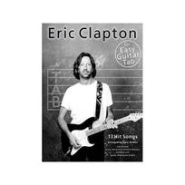 Music Sales - Eric Clapton for Easy Guitar Tab