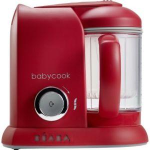 beaba babycook solo robot cuiseur mixeur rouge pas cher achat vente cuiseurs rueducommerce. Black Bedroom Furniture Sets. Home Design Ideas