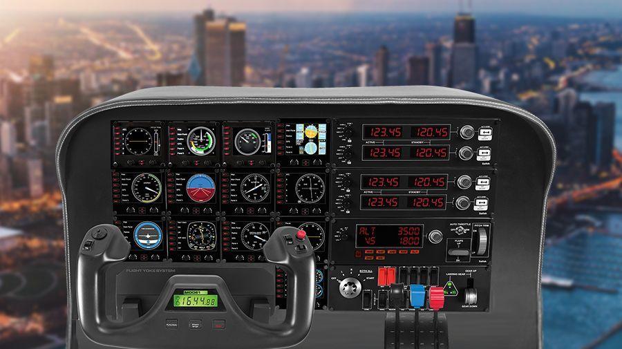 Flight Radio Panel