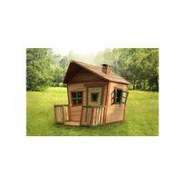Axi House - Cabane enfant Jesse en cèdre vernis naturel