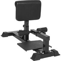 Gorilla Sports - Sissy squat machine - appareil abdominal et dos