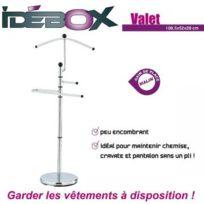 Idébox - Valet en métal 108,5 x 43 x 28 cm