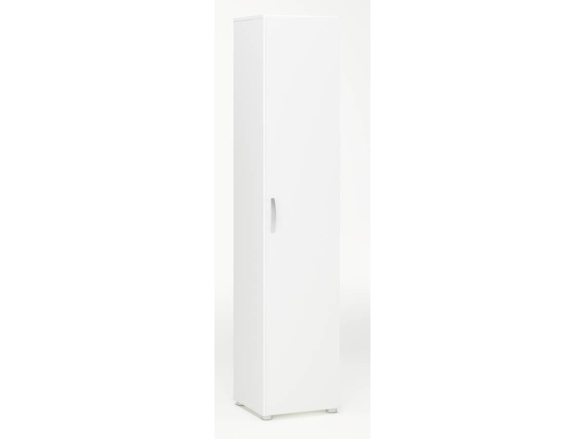 Armoire Cobi - 35 x 34 x 175 cm - Blanc