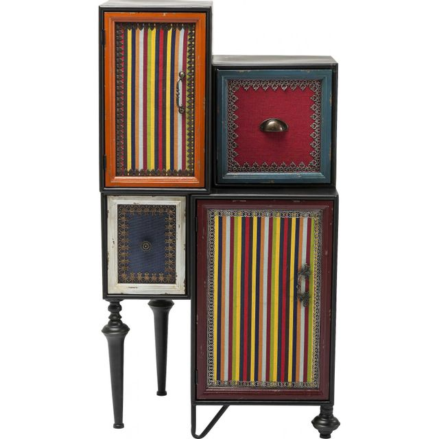 Karedesign Commode Fun Factory 2 portes 2 tiroirs Kare Design
