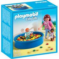 PLAYMOBIL   CITY LIFE   Piscine à Balles Pour Bébés   5572