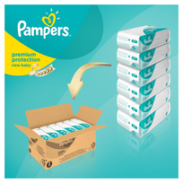 Couches pampers new baby taille 1 achat couches pampers for Pampers couche piscine