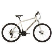 Ks Cycling - Vtt semi-rigide 26'' Calgary blanc Tc 56 cm