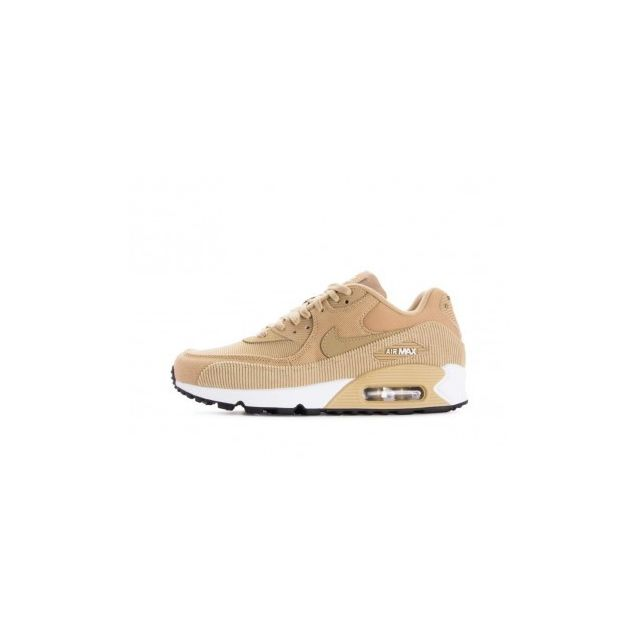brand new 0be9d cb0f2 Nike - Wmns Air Max 90 Lea - Age - Adulte, Couleur - Beige, Genre - Femme,  Taille - 36,5 - pas cher Achat   Vente Chaussures basket - RueDuCommerce