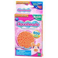 Aquabeads - Recharge de 600 perles orange