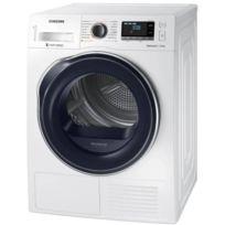 Samsung - sèche-linge frontal à pompe à chaleur 60cm 9kg a+++ blanc - dv90m6200cw