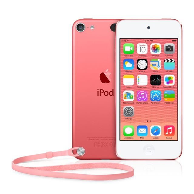 APPLE Ipod Touch - 32 Go - MKHQ2NF/A - Rose Toujours plus coloré, plus performant et plus puissant, l'iPod touch place le divertissement à un niveau encore jamais égalé ! Idéal pour emporter partout toute la musique que