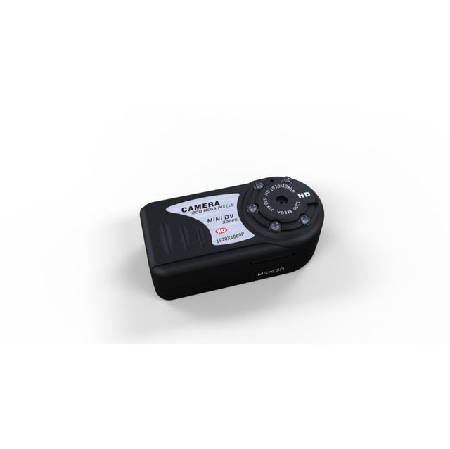 Yonis - Mini caméra espion Full Hd 1080p vision nocturne Micro Sd