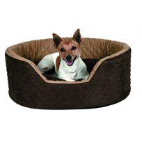638b4dcfc793 Trixie - Panier brun Benito pour chiens et chats Longueur 60 cm Largeur 45  cm