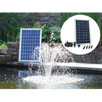 UBBINK - Pompe solaire pour bassin SolarMax 600 - 10 W