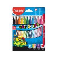 Maped - feutres Color'PEPS Jungle, étui en carton de 12