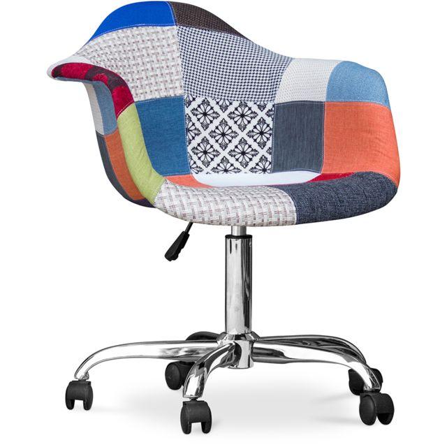 Chaise de bureau Darwick Patchwork Pixi