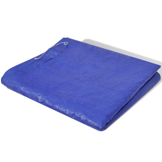 Vidaxl - Bâche Piscine en Pe Rectangulaire 394 x 207 cm 90 g/mètre carré