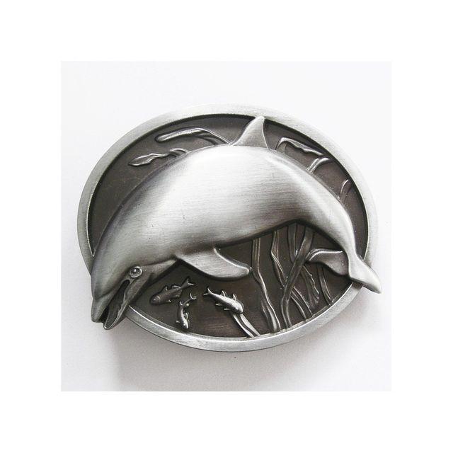 599a44522480 Universel - Boucle de ceinture dauphin alu homme femme fan de nature - pas  cher Achat   Vente Objets déco - RueDuCommerce