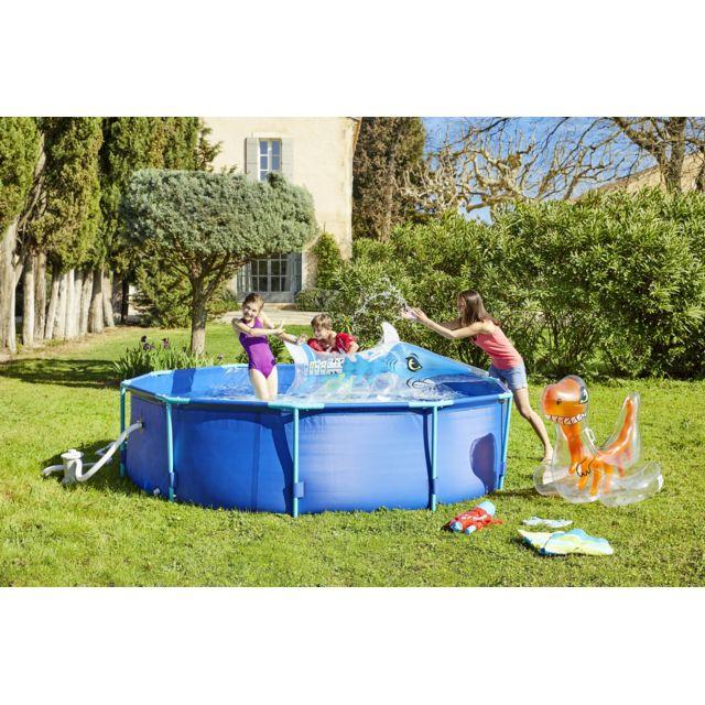 carrefour piscine tubulaire ronde molokini dia 305 x h 76 cm od86147 pas cher achat. Black Bedroom Furniture Sets. Home Design Ideas