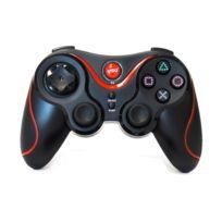 Hobby Tech - Manette De Jeu Sans Fil Pour Playstation 3 - Noire Et Rouge