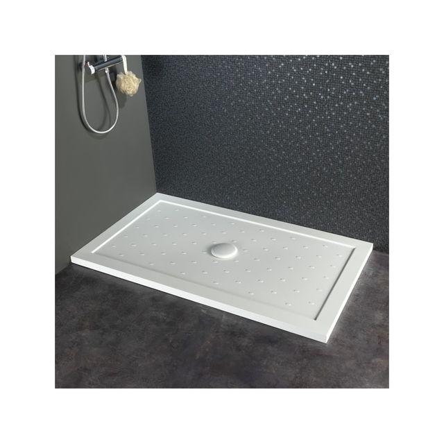 Planetebain receveur de douche large extra plat 80x140 - Receveur de douche extra plat pas cher ...