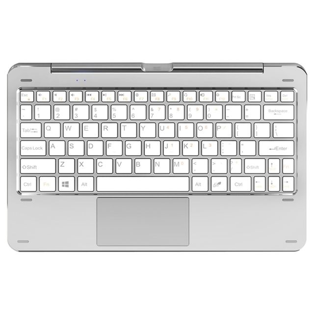 Wewoo clavier qwerty blanc pour cube iwork1x 11 6 pouces tablette tactile wmc1246w magn tique - Tablette tactile port usb ...