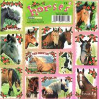 Lunii - Stickers Chevaux