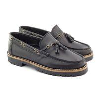 Boni Classic - Boni Floch, chaussures garçons en cuir noir